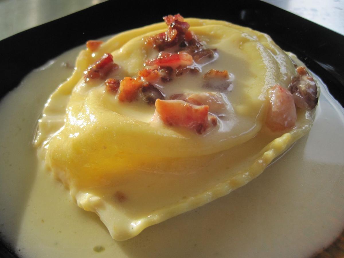 Special Request Acero Egg Raviolo