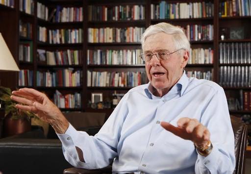 Koch network focuses on Senate, turns away from Trump
