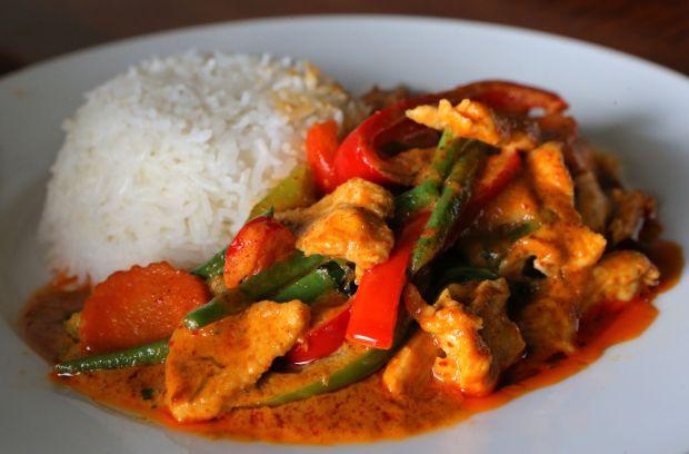 Thai Bistro, Panang curry