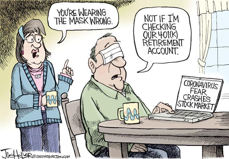In the cartoons: Market; Bloomberg; Weinstein | Editorial ...