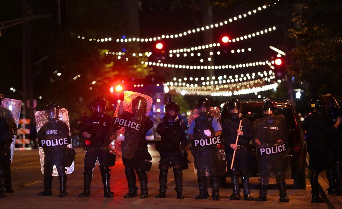 Looting, vandalism results from protest in downtown St. Louis