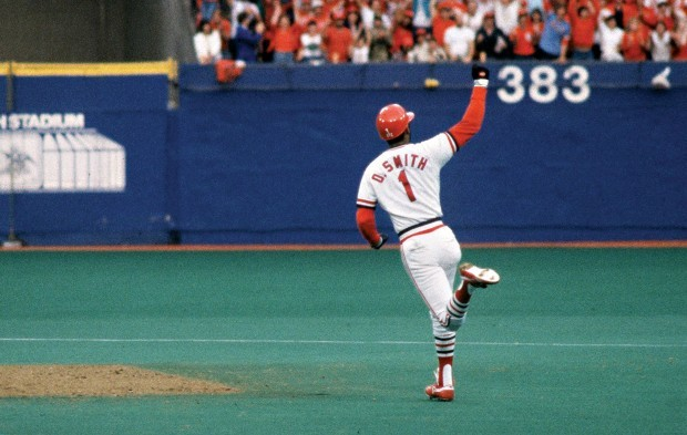 "Ozzie Smith's ""Go crazy"" home run"