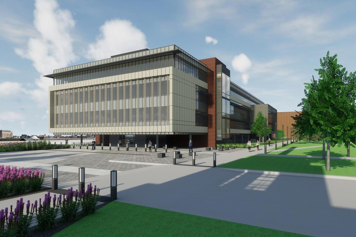 Work nears completion on new nursing facility at STLCC Forest Park campus