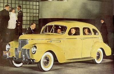 The 1939 De Soto