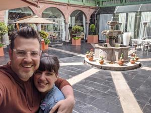 Rumah lagi: Pasangan terjebak di Peru membuatnya kembali ke STL