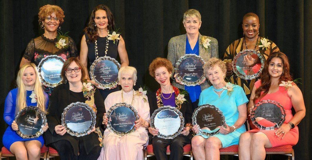 The 2021 Women of Achievement winners