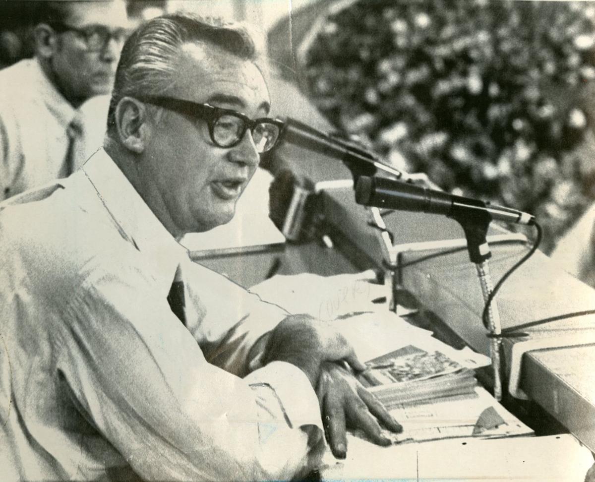 1969: Harry Caray
