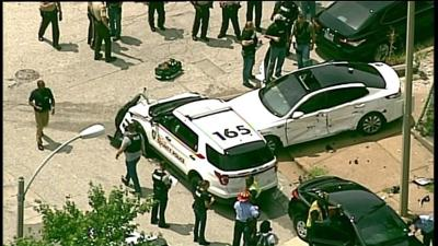 St. Louis County police in crash