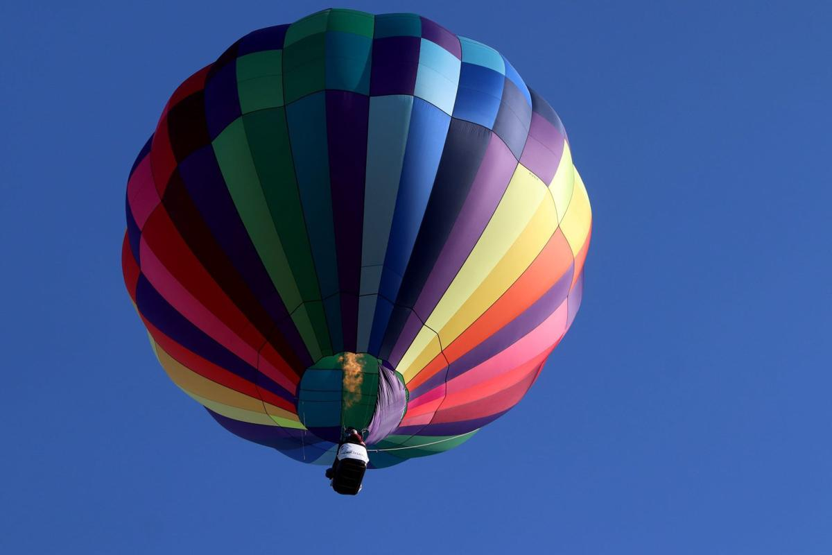 The 46th annual Great Forest Park Balloon Race