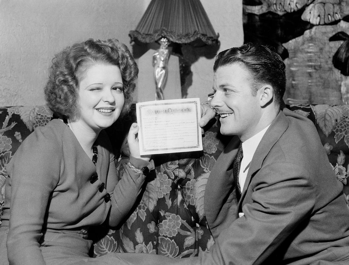 Lucy, Desi and a look back at celebrity weddings