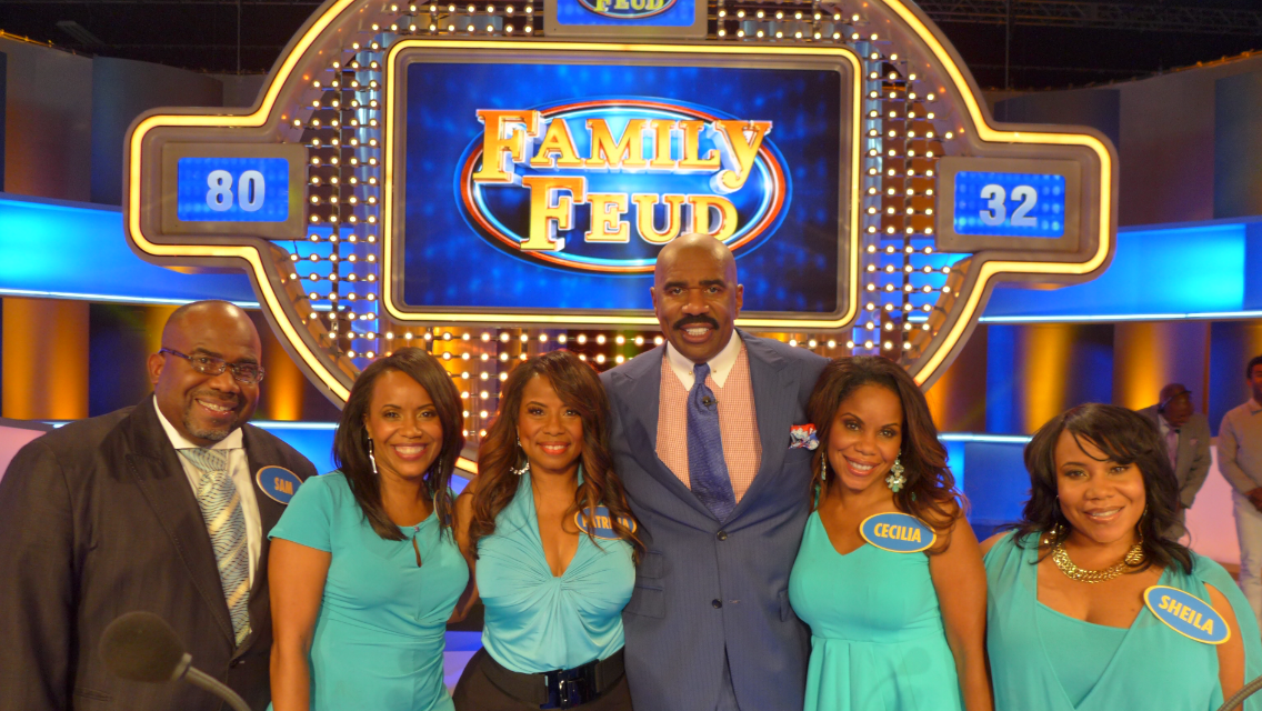STL family makes outtake splash with 'Family Feud' answer | Joe's St