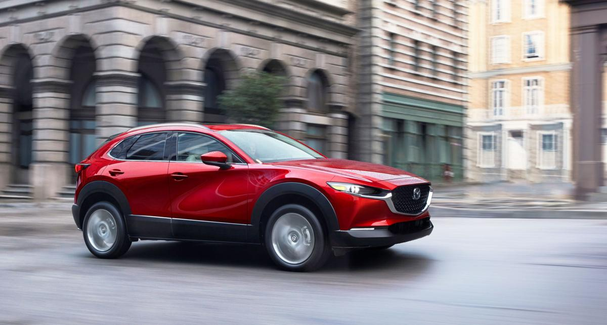 Slotting between CX-3 and CX-5 in Mazda's crossover SUV lineup, the all-new CX-30 compact crossover looks as beautiful as it rides, drives and handles.