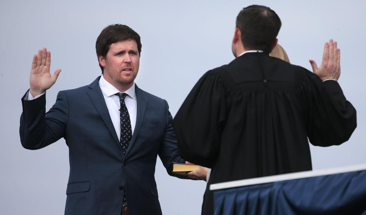 State leaders sworn-in at Bicentennial Inauguration