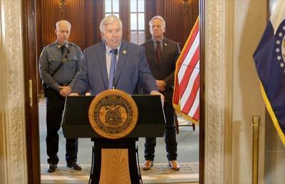 Gov. Mike Parson press conference