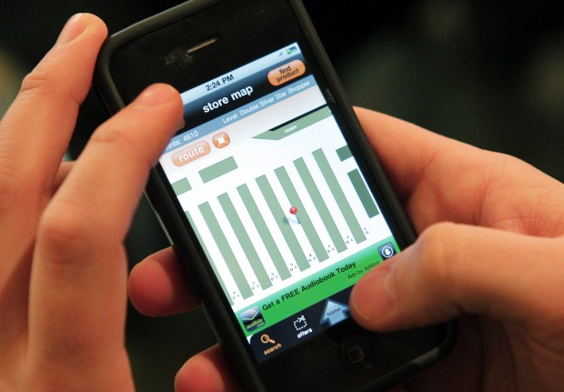 Smart phone app helps shoppers find right aisle | Business