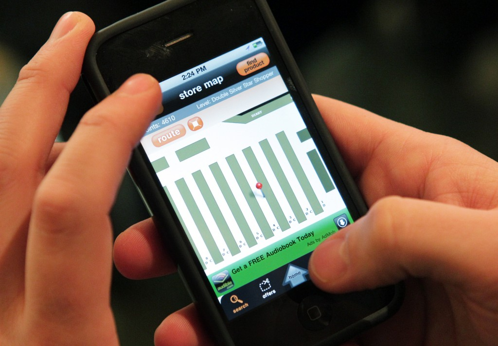 San Francisco Map Store%0A Smart phone app helps shoppers find right aisle   Business   stltoday com