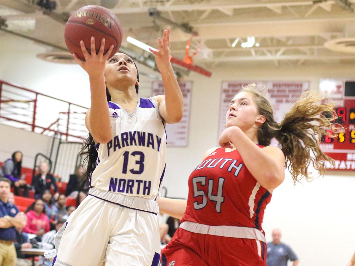 Parkway North vs. Parkway South girls basketball