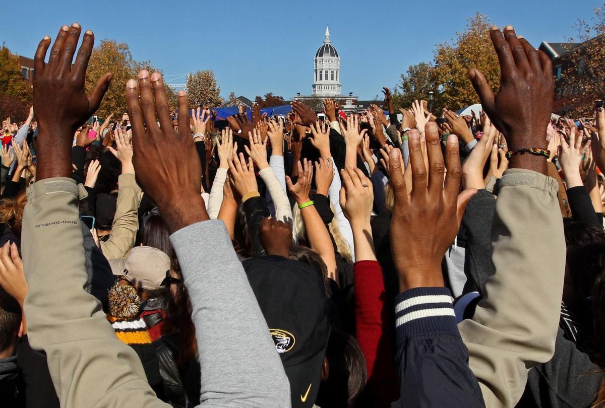 University of Missouri students show support