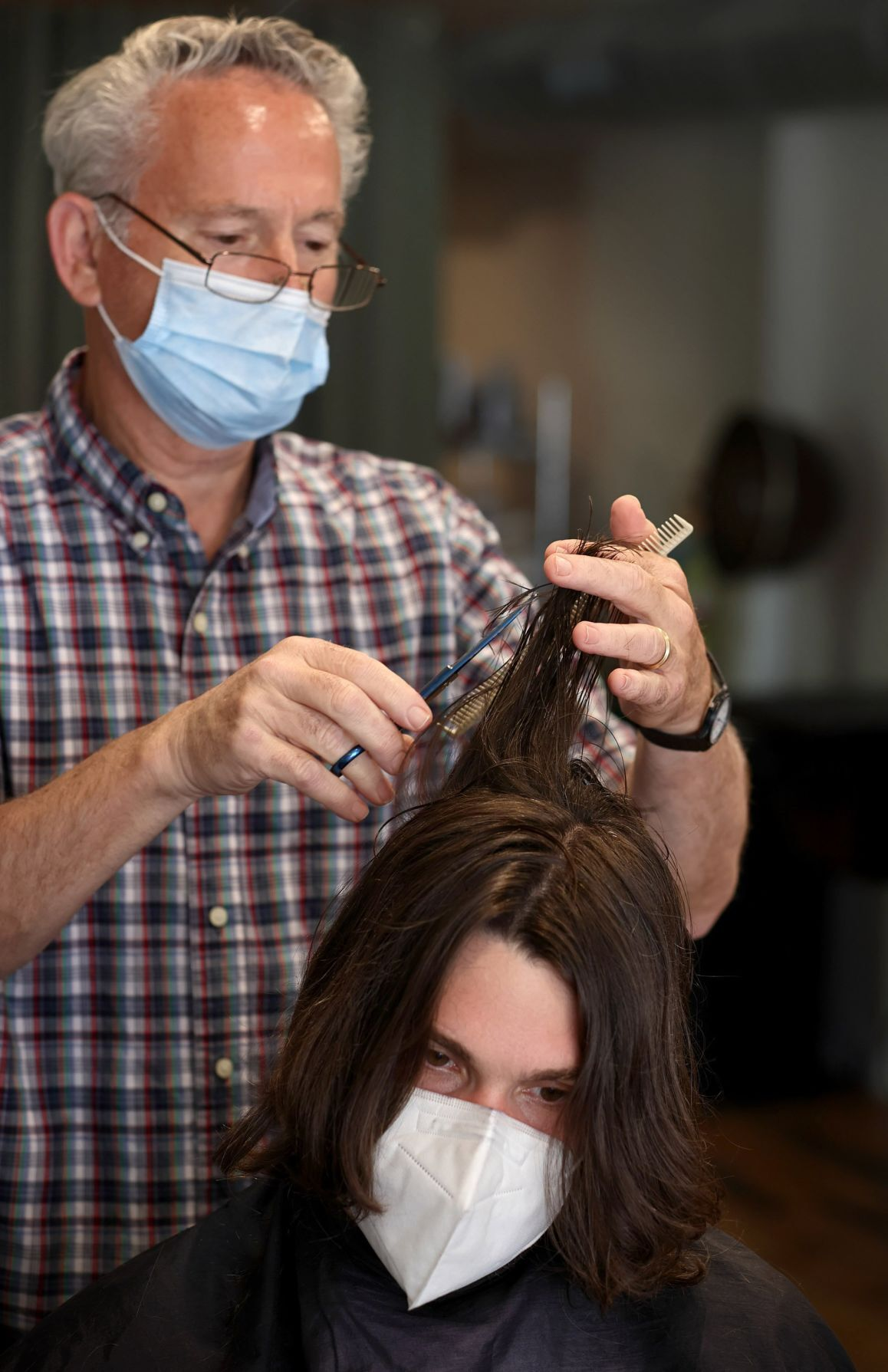 Pandemic hair styles get a trim