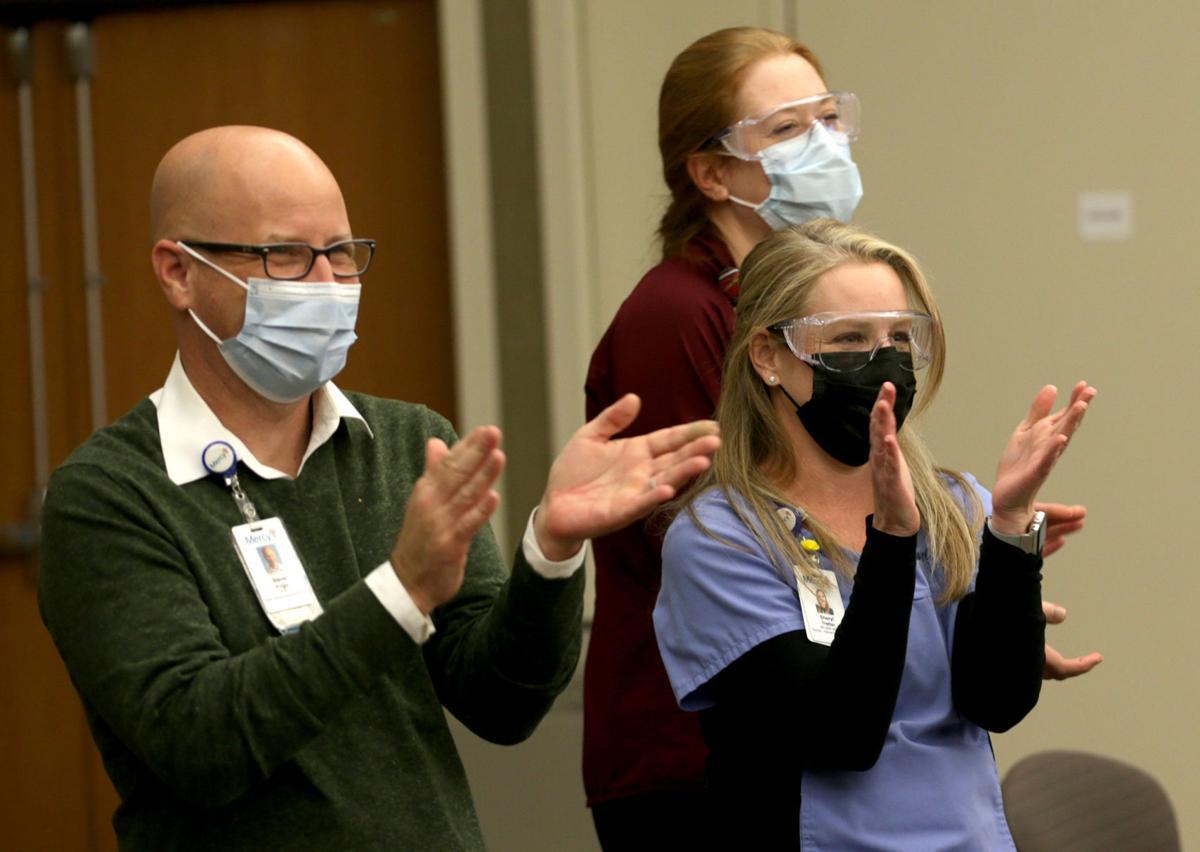 Frontline medical workers start receiving the vaccine