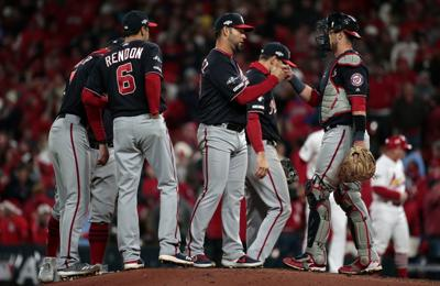 Nationals take Game 1 of the NLCS with a 2-0 victory over the Cardinals