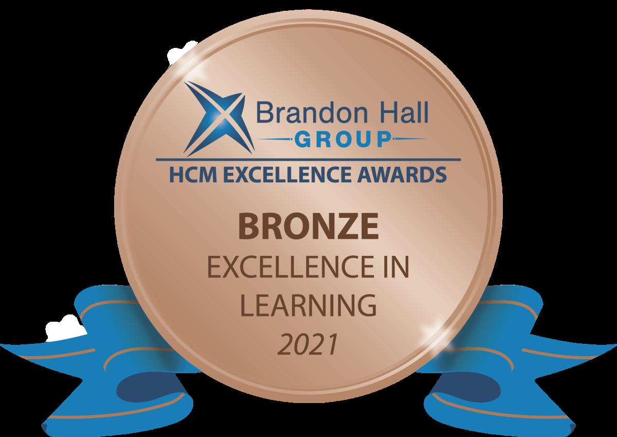 Brandon Hall Group Bronze Excellence Award