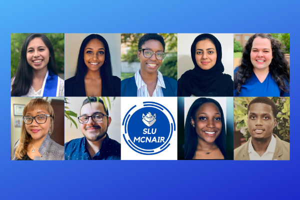 SLU McNair Scholars, Staff and Alumni Participants of the 2020 MKN Heartland McNair Research Conference