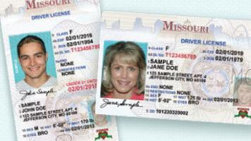 missouri drivers license real id