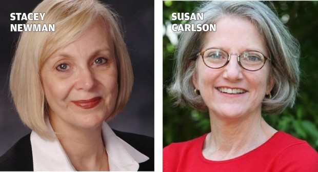 Stacey Newman, Susan Carlson