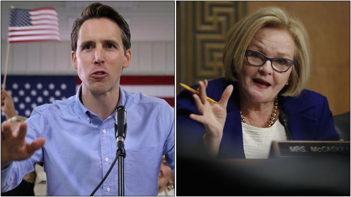 Hawley and McCaskill