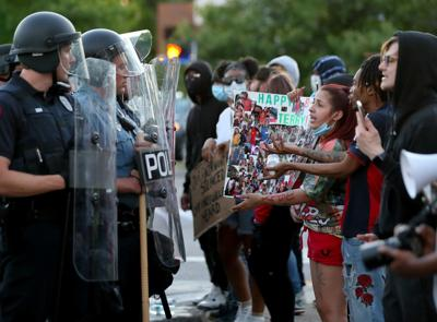Protests in Richmond Heights