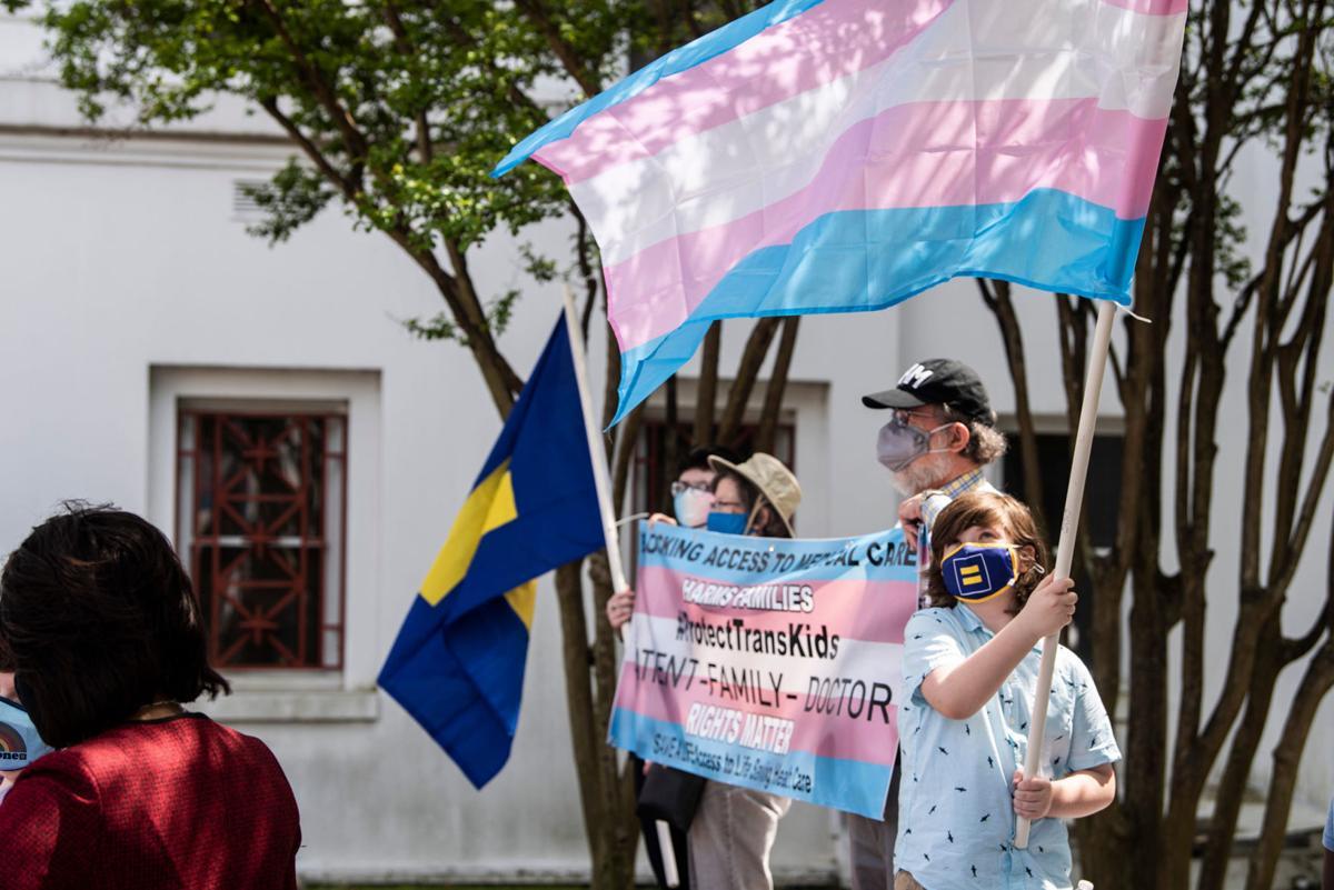 Transgender rights rally in Alabama