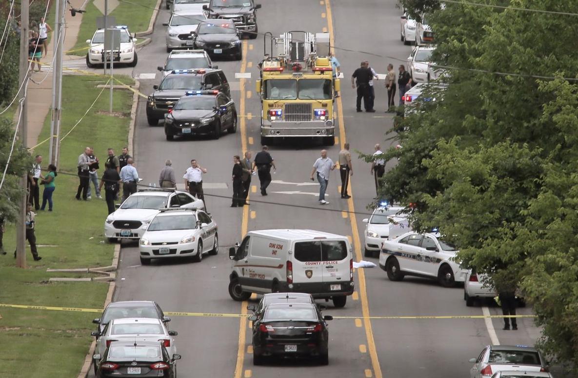 Ballwin police officer shot