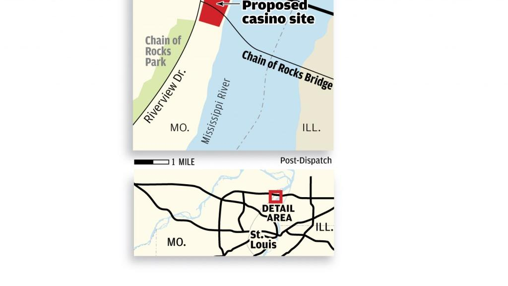 Casinos In Missouri Map.Key St Louis Board Votes To Endorse Koman Casino Proposal