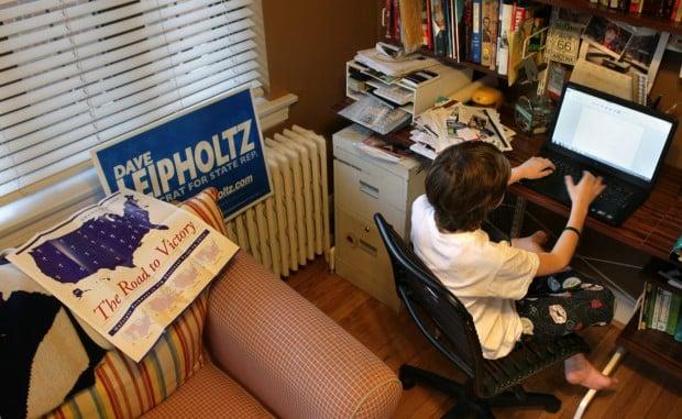 Young historian publishing politics in University City