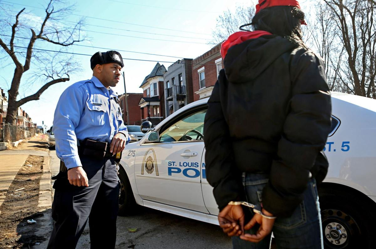 Hot-spot policing in West End neighborhood of St. Louis