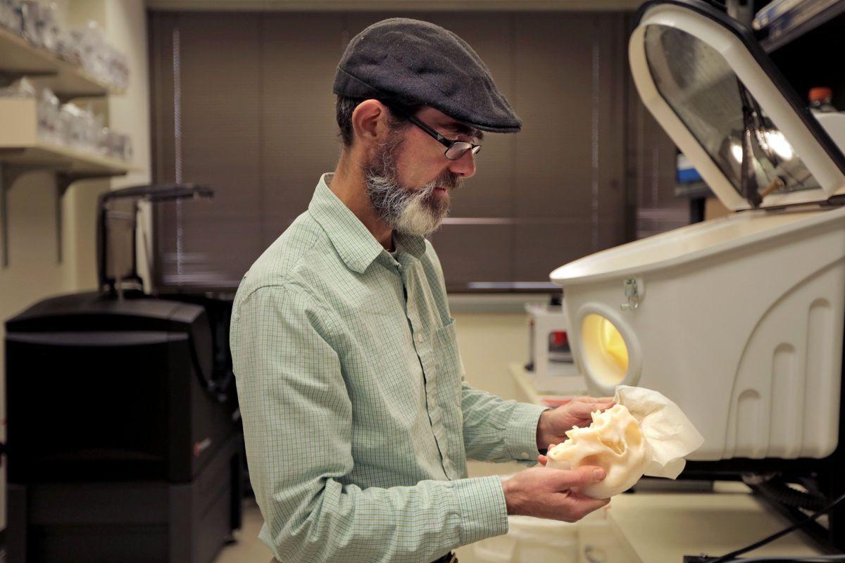 3D printer at Washington University