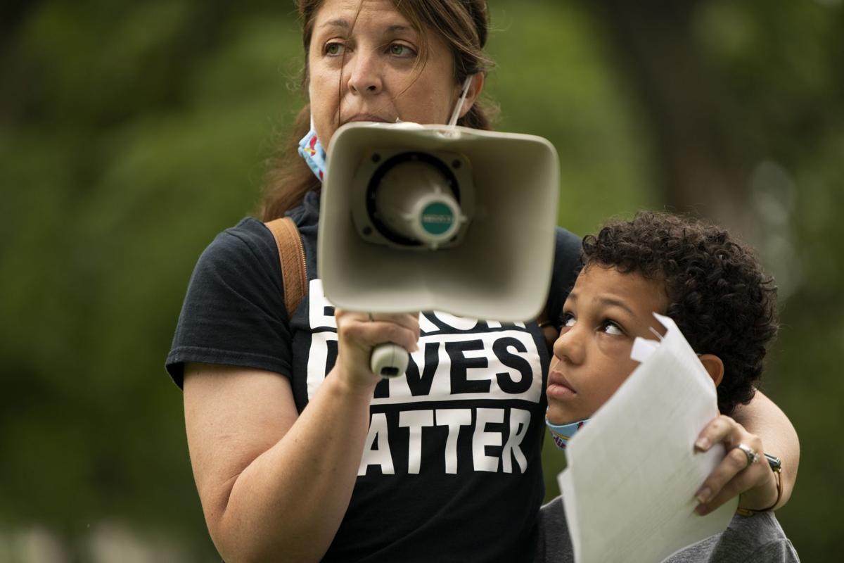 Children's Black Lives Matter March in Kirkwood
