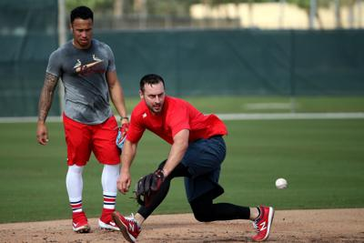 Cardinals pitchers and catchers report day