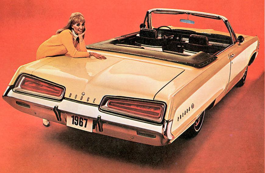 1967 Dodge Polara Monaco 500 Mopar SHOP MANUAL