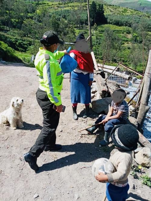 Maria Lida Foundation provides COVID19 relief to the Alausí, Ecuador region.
