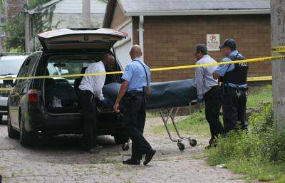 Double homicide along the 4100 block of Michigan