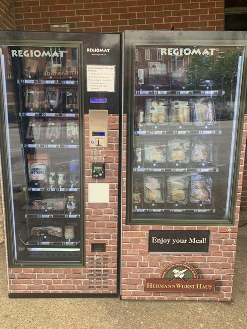 Hermann Wurst Haus Meat Vending Machine
