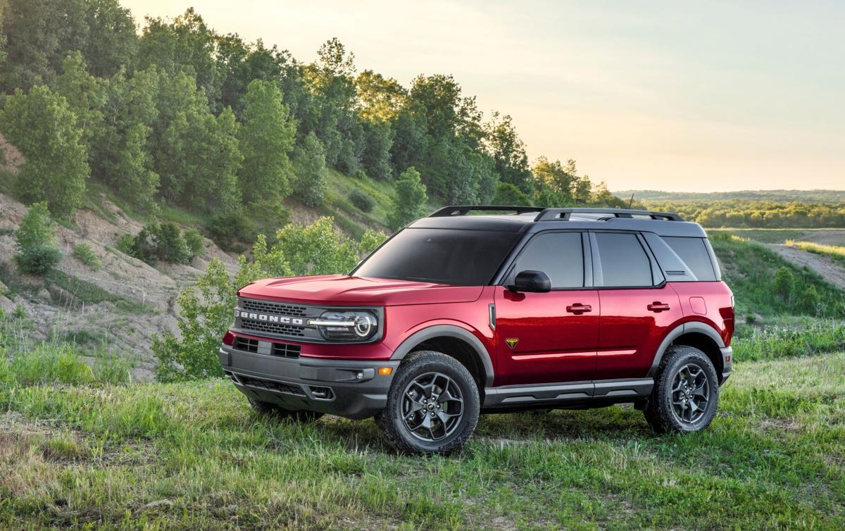 A small-crossover relative to the larger, truck-based Bronco, Bronco Sport, though more rugged, shares its basic platform with the Escape.