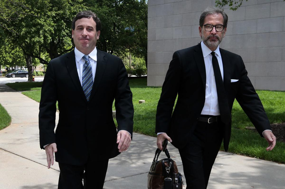 Stenger indicted, arrives for first appearance in federal court