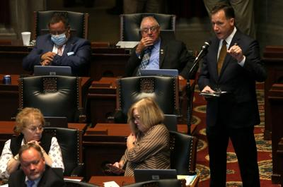 Special session follows veto session in Jefferson City