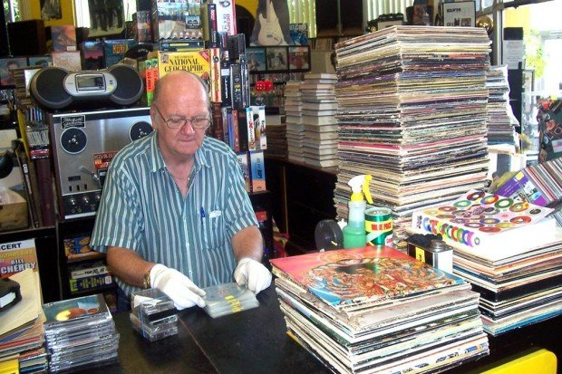 Vinyl rules at the Record Exchange
