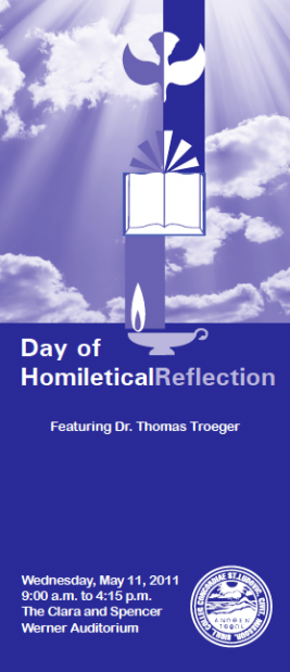 Day of Homiletical Reflection