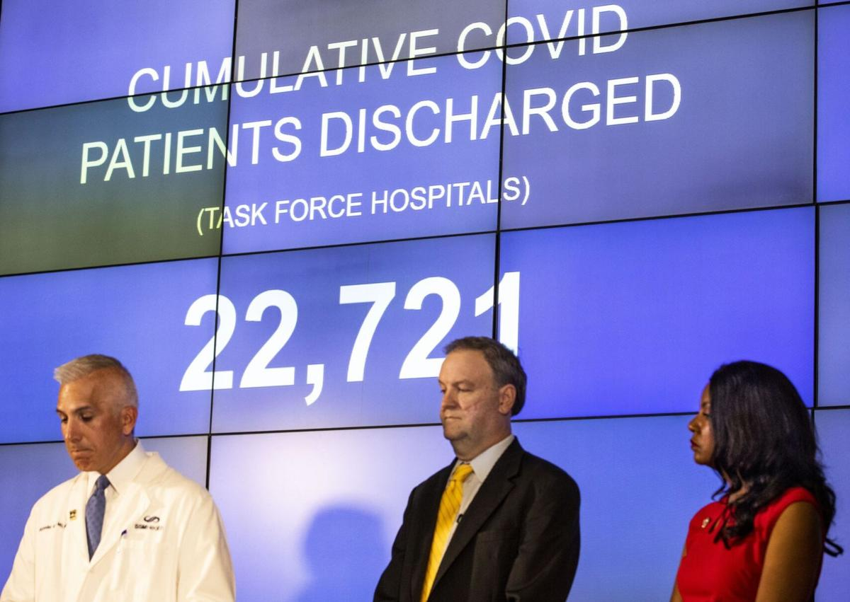 Pandemic Task Force holds final press conference