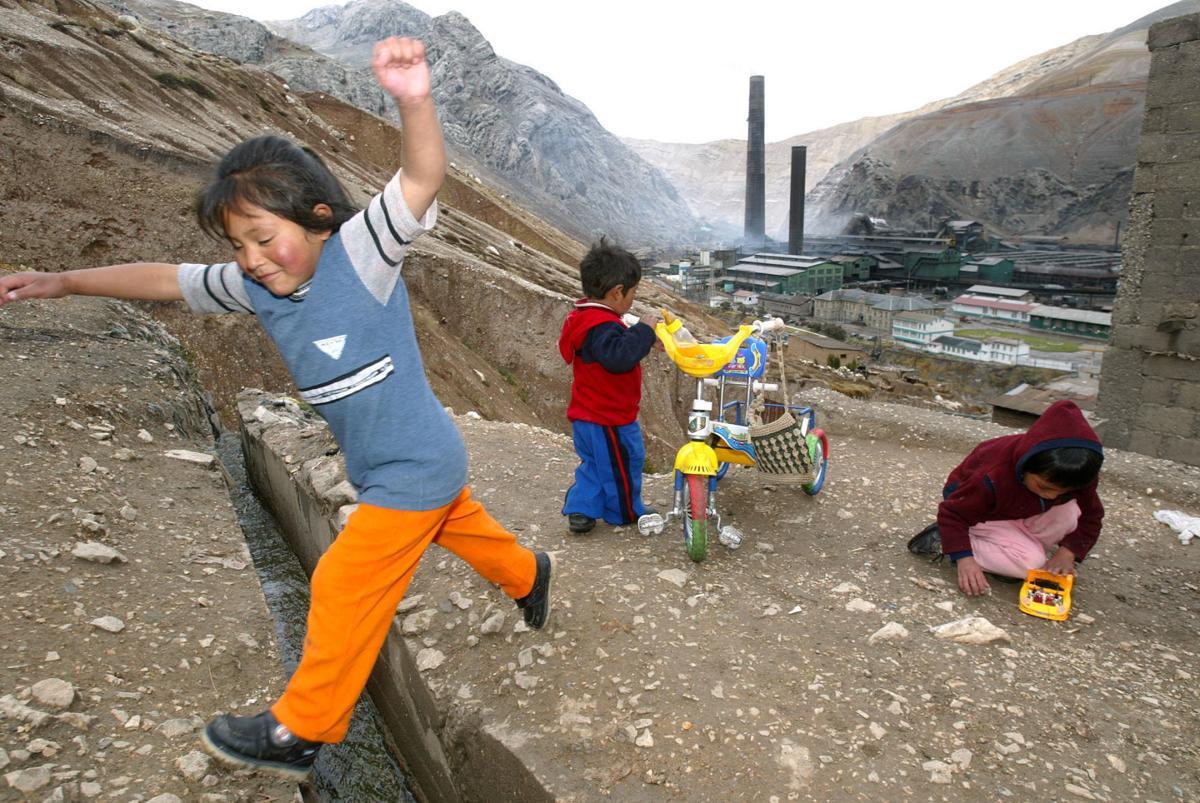 Peru lead poisoning case